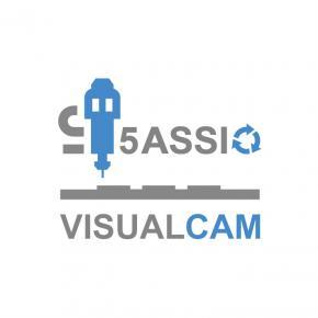 VisualCam 5 assi in continuo